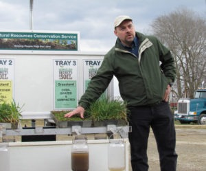J. B. Daniel and Rainfall Simulator Demo